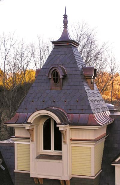 Custom sheet metal roof solutions