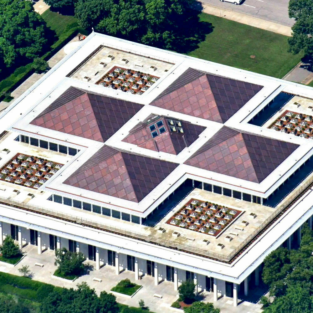North Carolina Legislative Building copper roof installation - Featured