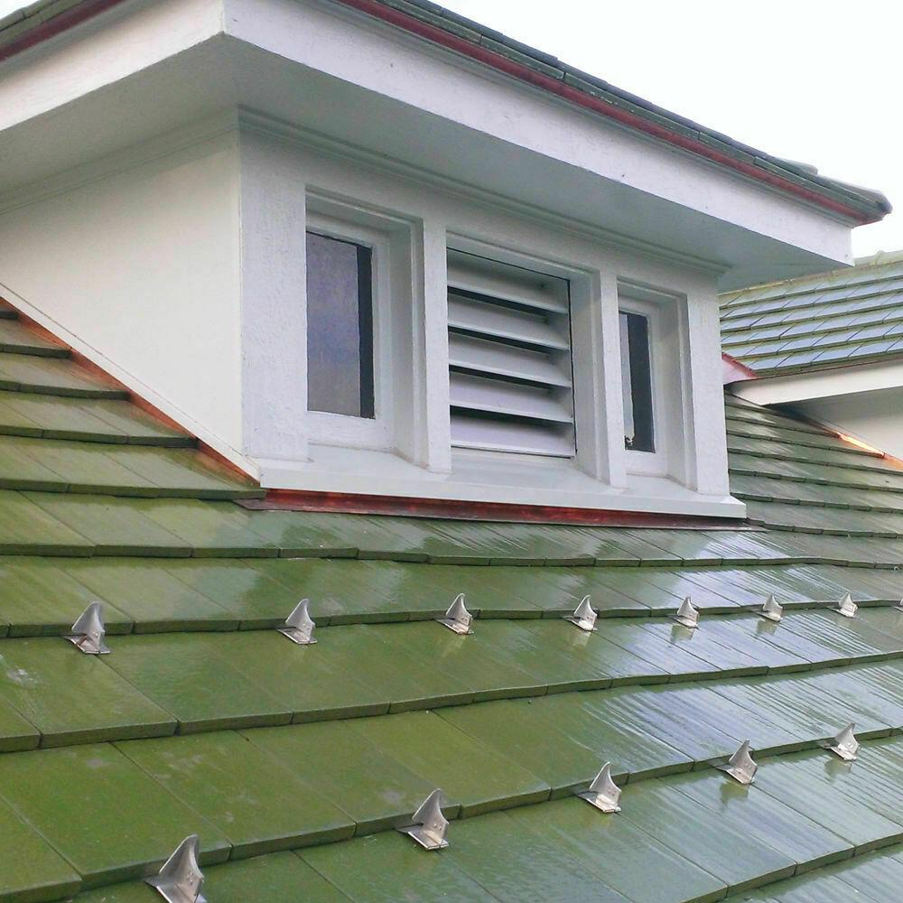 Duke University - Ludowici green tile roofing installation - cover
